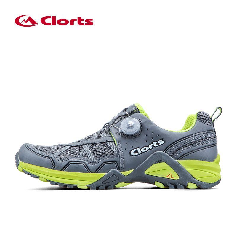 Licht Clorts Männer Trail Running Schuhe BOA Schnelle Schnürung Sportschuhe Atmungsaktive Sportschuhe Anti-rutsch Runner Schuhe 3F013B/D