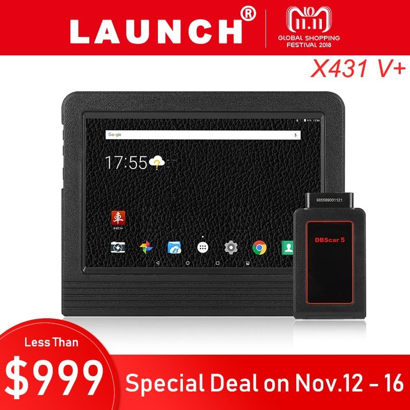 Launch X431 V Plus Car Diagnostic Scanner Diagnostics Auto Full System Diagnosis Professional Scan Tool Universal PK Autel MS906