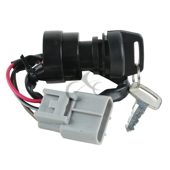 Motorcycle Ignition Switch Key For Yamaha GRIZZLY 660 YFM660 2002-2008 ATV  700 FI 4X4 YFM700 2009-2013 2010 11