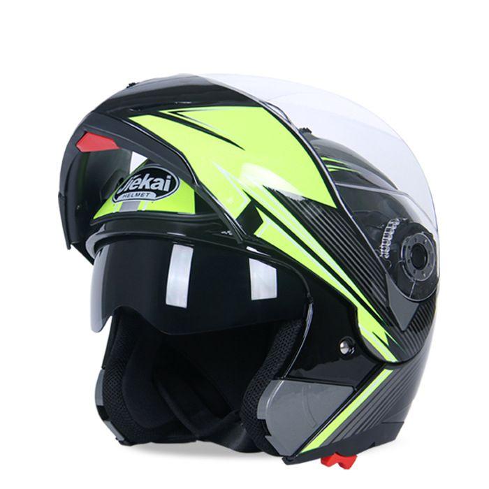 Hohe Qualität Volles Gesicht Motorcyle Roller Ski Helm mit Dual Anti-fog-objektiv Winddicht Atmungsaktiv Größe L XL XXL