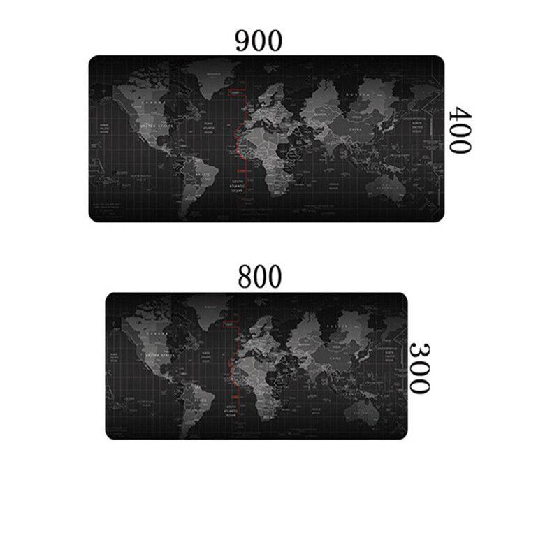 Slip-résistant souris pad 900x400mm pour CSGO Dota 2 LOL tapis de souris grand PC Ordinateur tapis de souris gamer muismat 61400A