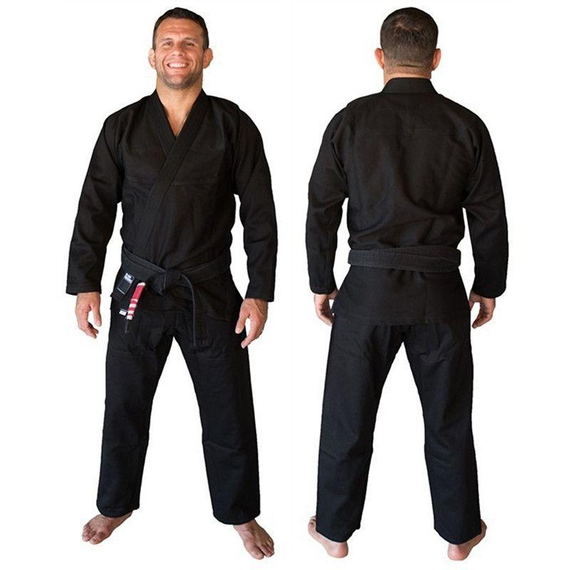 Quality Daddy Chen Brand Fight Wushu Martial Arts Sets Boxing Training Brazil KORAL Brazilian Jiu Jitsu Judo Gi Uniform 3 Colors