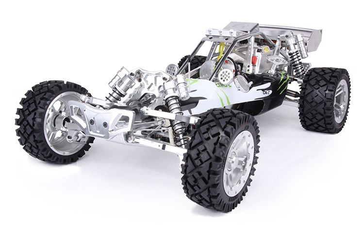 Free Shipping!!! Rovan Baja 5B 305SS Remote Gasoline metal car with 30.5CC Engine High Speed Exhaust Pipe SAVOX Servo