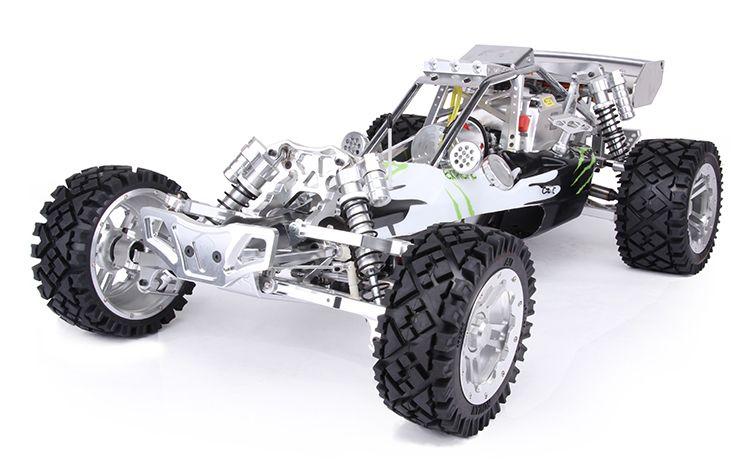 Freies Verschiffen!!! Rovan Baja 5B 305SS Fernbedienung Benzin metall auto mit 30.5CC Motor Mit Hoher Geschwindigkeit Auspuffrohr SAVOX Servo