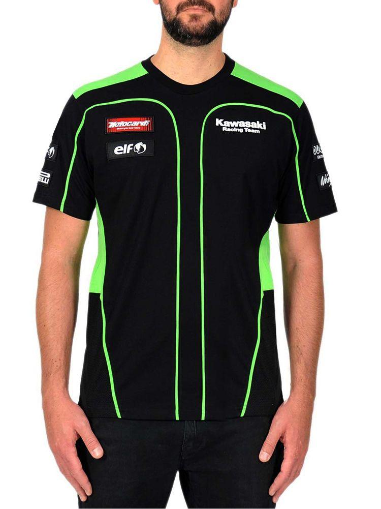 MOTO GP for Kawasaki T-shirt Motorcycle Riding Team Racing Sports Men's Classic T shirt