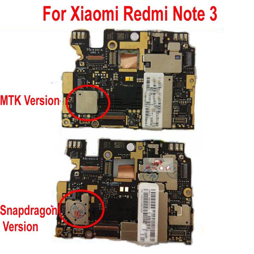 Globale Firmware Original Entsperren Mainboard Für Xiaomi Hongmi Redmi Hinweis 3 Note3 Pro Motherboard Circuit Gebühr Wichtigsten Board Zubehör