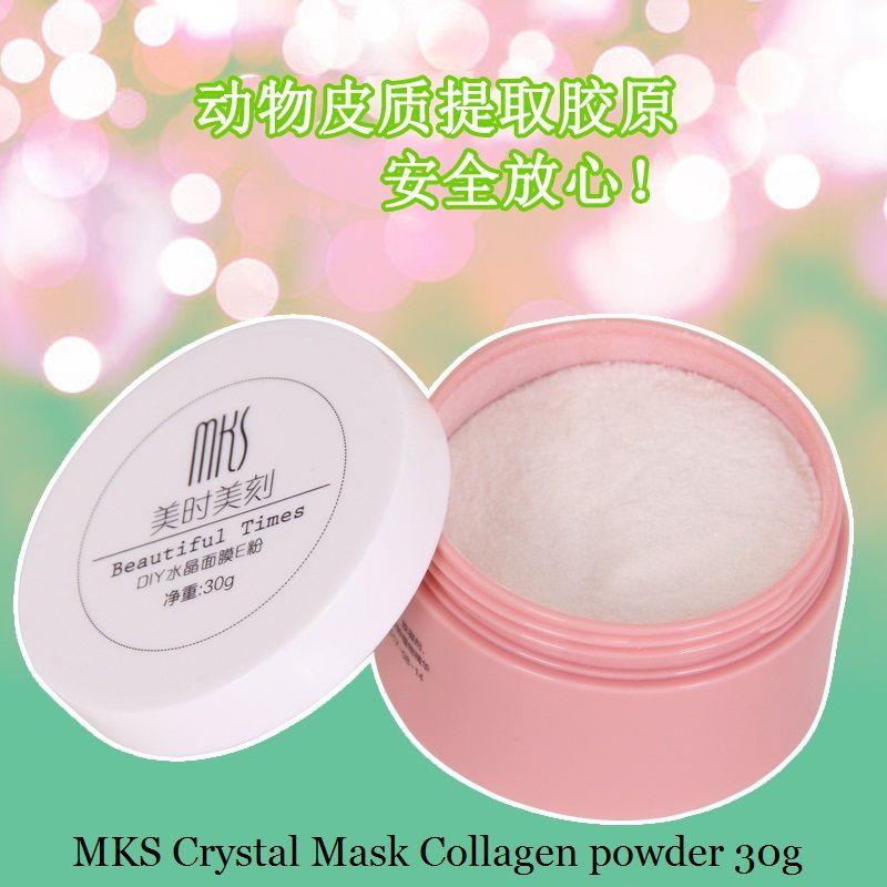30g Polvo de la Máscara de Colágeno Péptido Activo MKS CRYSTAL Face Mask DIY Máquina de Uso