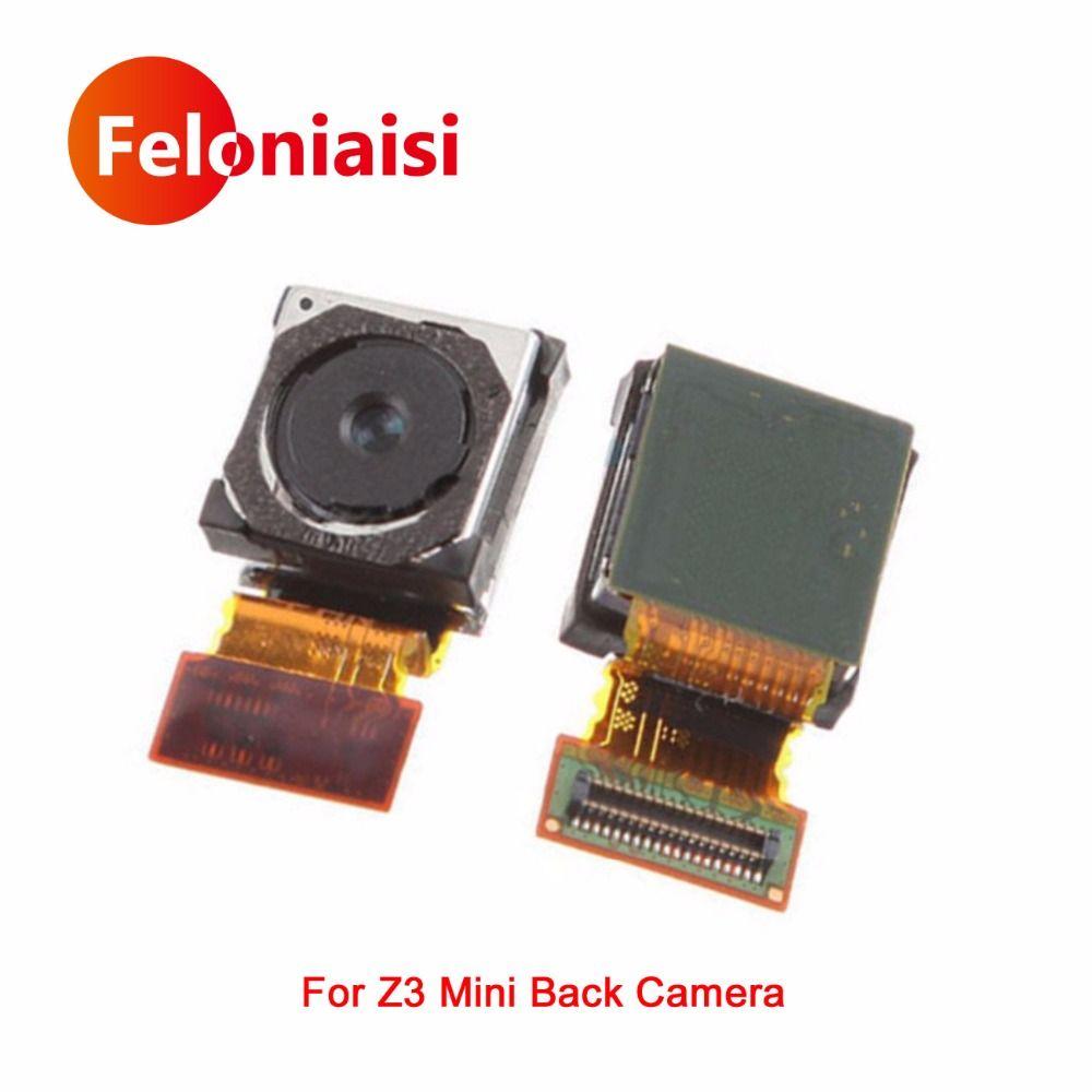 Für Sony Xperia Z3 Compact mini M55W D5803 D5833 Hinten Big Zurück Kamera Flex Kabel Haupt Kamera-modul Band