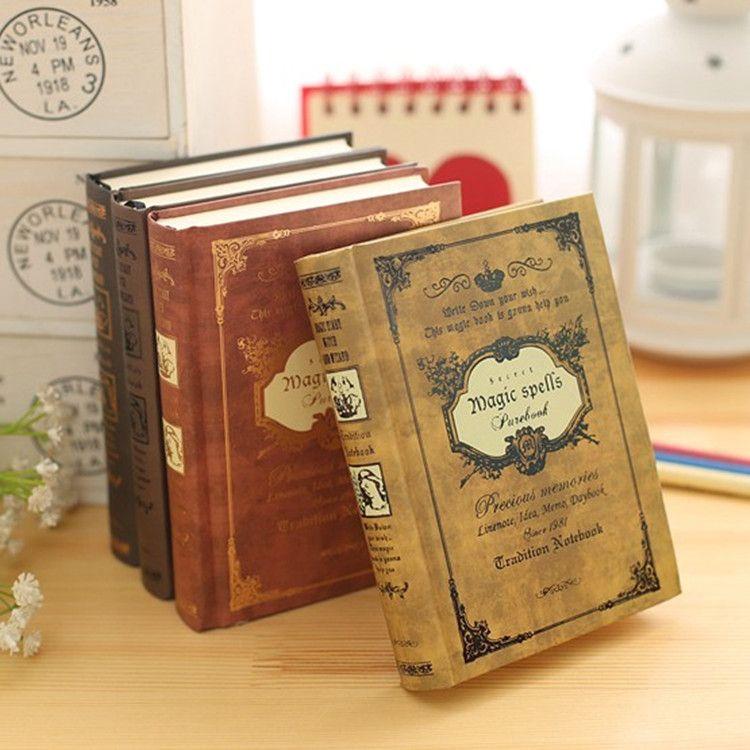 64 K Petite Poche Vintage Notebook Handcover Sorts Magiques Poches Livre Planificateur Journal Voyageur Bloc-Notes
