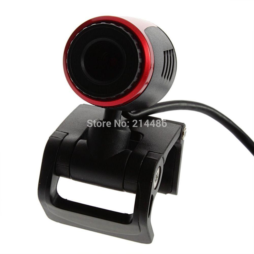 USB 2.0 Clip WebCam Web-kamera w/MIC Mikrofon für Laptop PC Heißer Verkauf 2017 Neue Ankunft