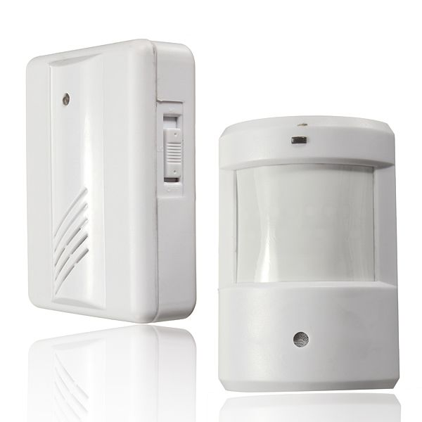 Safurance Infrared Wireless Doorbell Alarm System Motion Sensor Home Security Safety Driveway Patrol Garage
