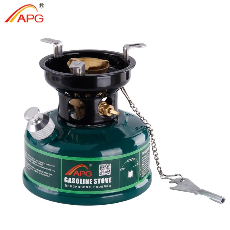 APG Outdoor Gasoline Stove 500ml Oil Petrol Stove Burners Camping Equipment