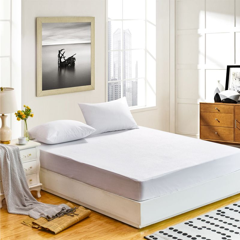 DFH All Size waterproof mattress cover Cheapest 100% Terry Waterproof Mattress Protector For bed mattress pad and For <font><b>Anti</b></font>-mite