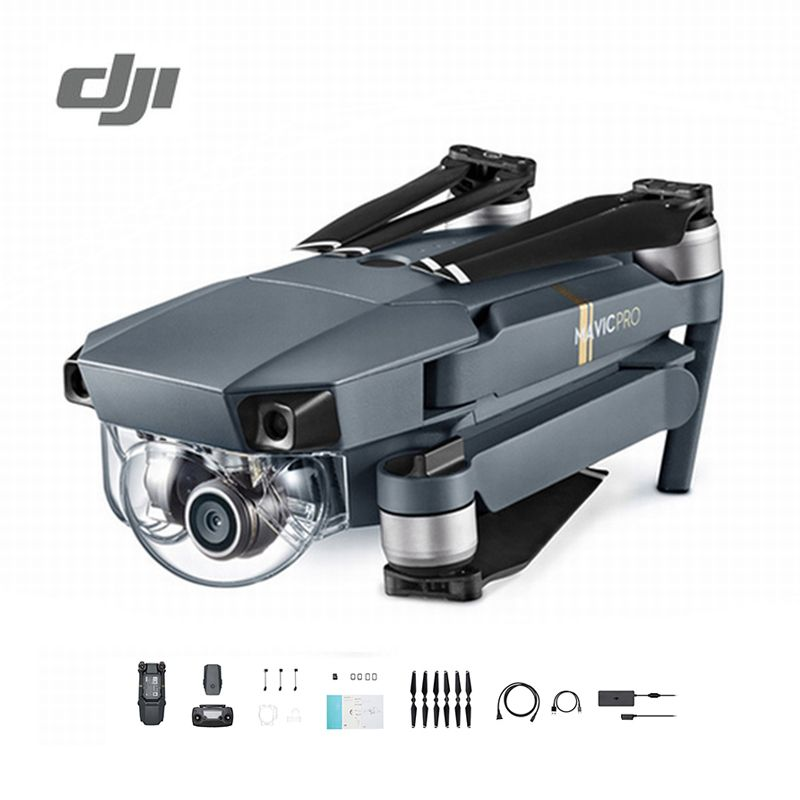 DJI Mavic Pro Drone Set 1080P Camera 4K Video RC Helicopter Drones FPV Quadcopter Official Authorized Distributer Original