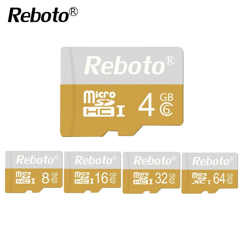 Mini Yellow Memory Card 32GB 64GB Micro SD Card Class 10 UHS-1 TF Card 16GB 8GB Carte Microsd Flash 4GB Class 6 Free Shipping