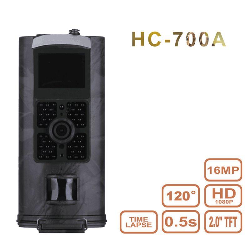 HC700A Impermeable Cámara Cazador Camuflaje Caza del Rastro de La Cámara Trampa Animal Salvaje