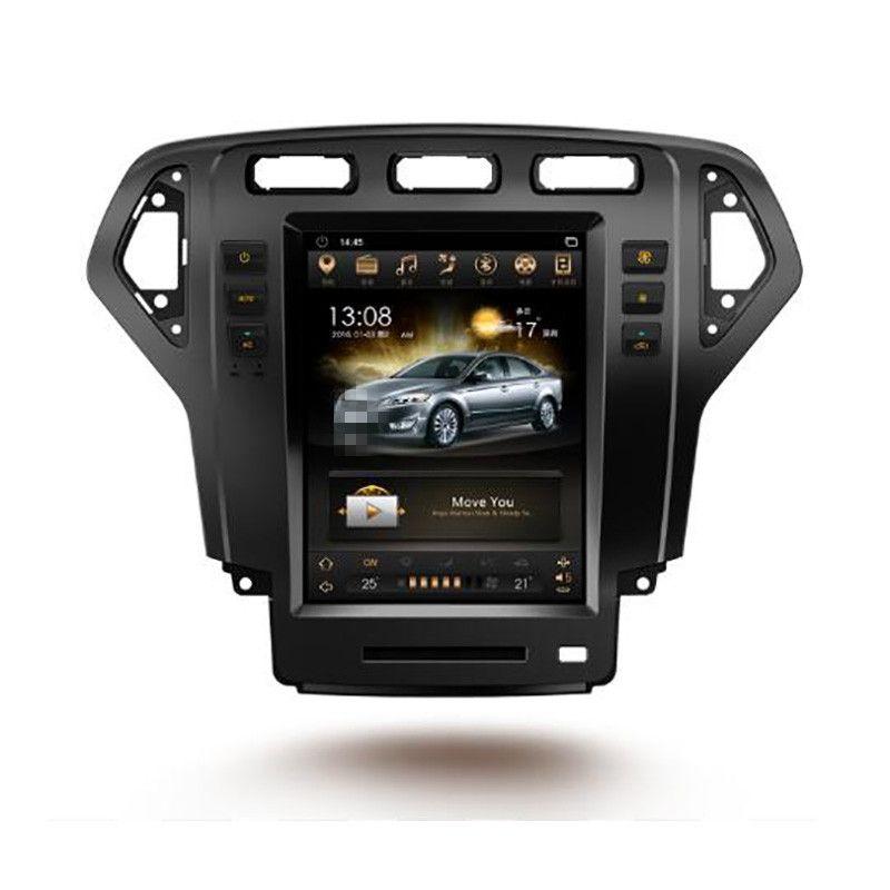 CHOGATH 10,4 ''android 7,1 Vertikale Bildschirm 2 + 32G Auto Radio GPS Multimedia Stereo für Ford Mondeo 2007 2008 2009 2010 mit karten