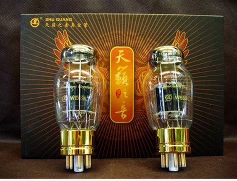 Shuguang WE6SL7 Vacuum Tubes HIFI EXQUIS Factory Full Matched Electron 6SL7 Lamp equivalent 6N9P 6H9C