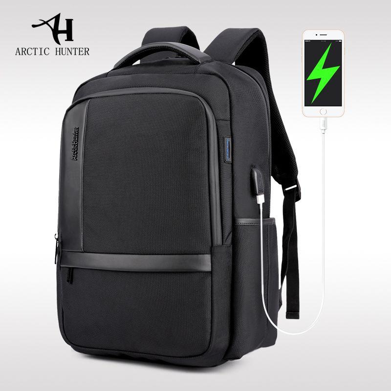 ARCTIC HUNTER New casual men 's shoulder bag nylon waterproof college students bag computer bag backpack school bags