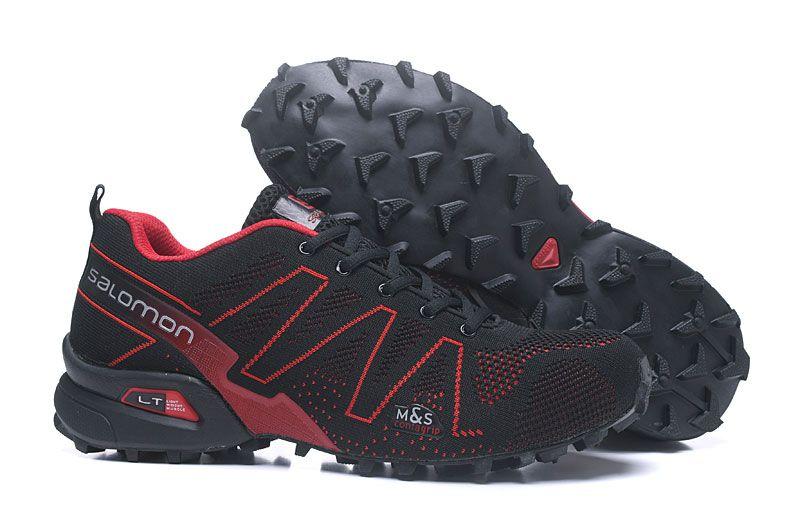 2018 New summer Salomon Men Cross 3.5 Speedcross Mesh flying line breathable cross-country hiking shoes