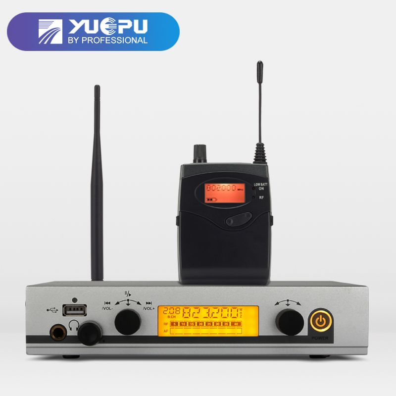 YUEPU RU-530 wireless in ear monitor system Cordless Monitoring Professional one channel transmitter personal Stage Performance