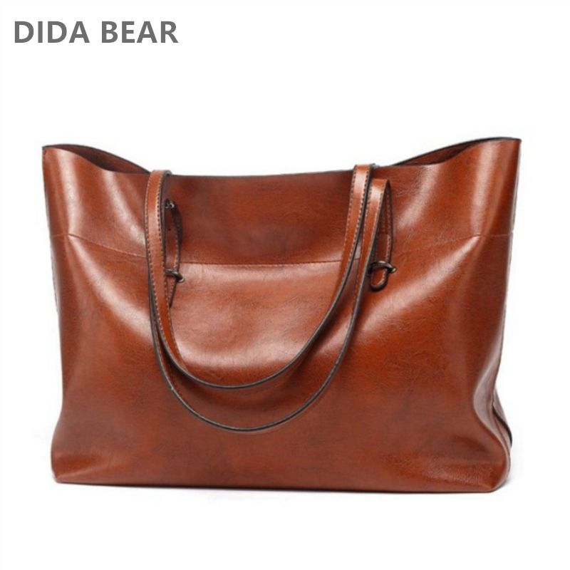 DIDABEAR Brand Leather Tote Bag Women Handbags Female Designer Large Capacity Leisure Shoulder Bags Fashion Ladies Purses Bolsas