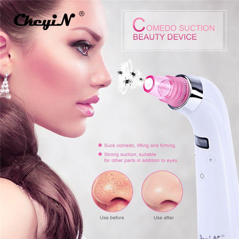 Ckeyin 4 советы 5 уровень Уход за кожей алмазный пилинг, микродермабразия машина угревая сыпь пор Черноголовых вакуумных Красота устройства