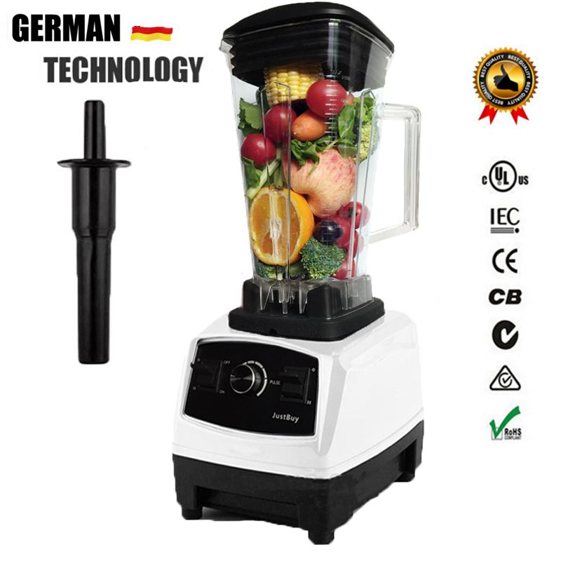 AU/UK/US Plug German Motor Technology BPA FREE heavy duty juicer blender professional mixer food processor G5200