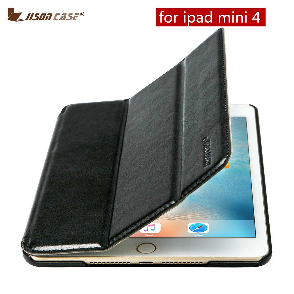 Jisoncase Планшеты чехол для iPad мини 4 Чехол Премиум из искусственной кожи магнитный держатель стенд для iPad Mini 4 7.9