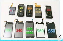 LCD Touch AND LCD  FOR  CAT S61 S60 S50 S50C S48C S41 S40 S31 S30 B100 B30 B25 B15 B15Q B10