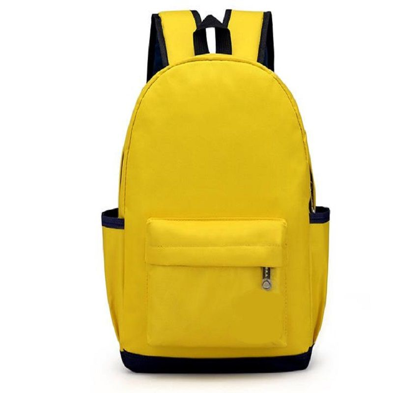2018 NEW THREE FEATHER Selling Solid color schoolbag for primary school students. Multicolor choice H0007L