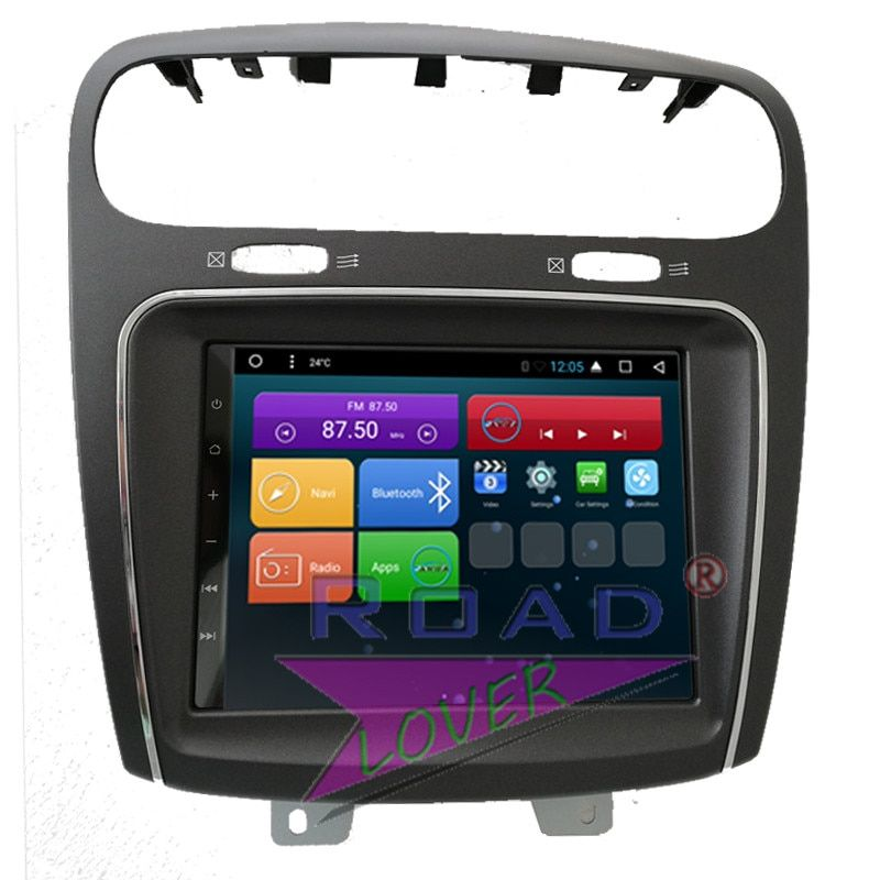 Roadlover Android 7.1 Auto DVD Autoradio-Player Für Fiat Leap Freemont Dodge Journey Stereo GPS Navigation Magnitol 2 Din Video
