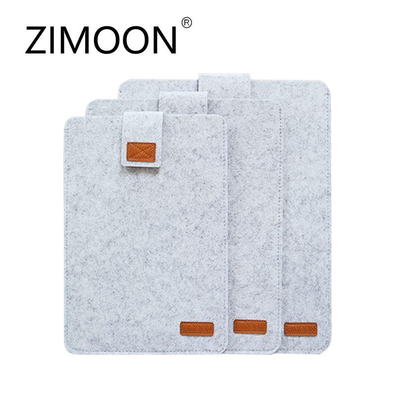 Zimoon Filz Liner Sleeve Laptop Notebooktasche Laptop-tasche Intelligente Abdeckung für 11 13 15 macbook air pro retina