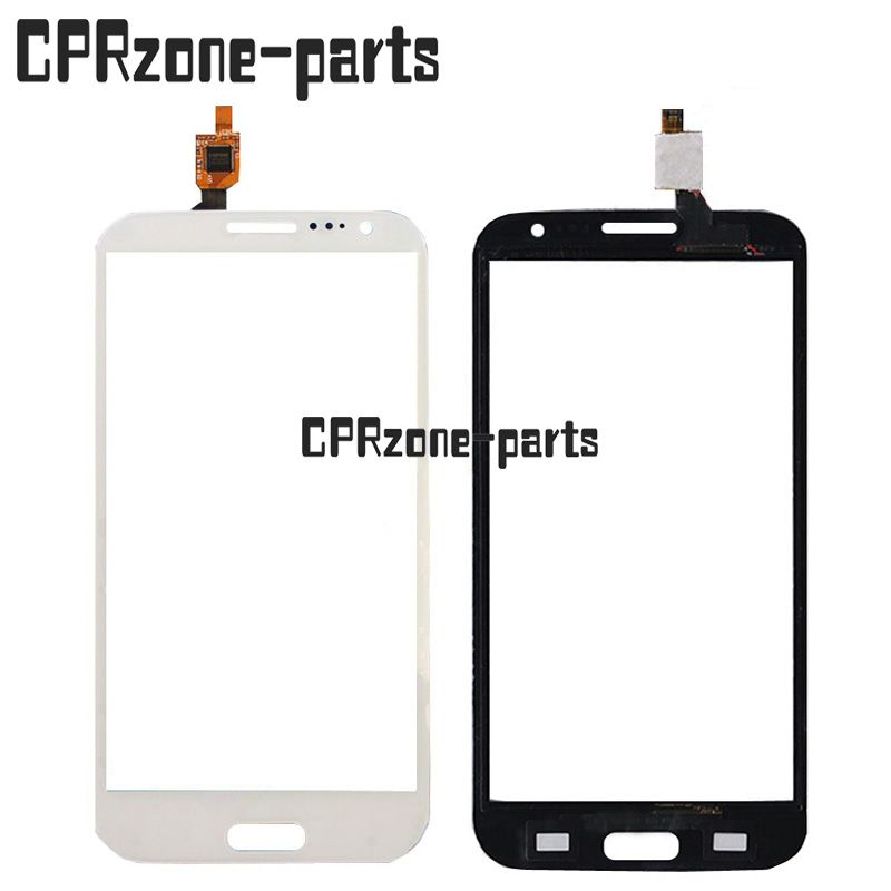 100% Warranty white New Touch Screen Digitizer glass For THL W7 Dual Core by free shipping