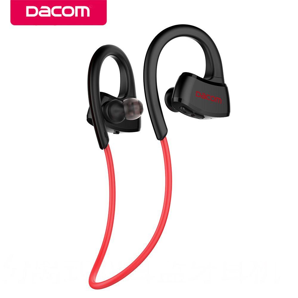 DACOM P10 Sport Bluetooth Headphone MP3 Player IPX7 Waterproof Running Wireless Earphone Stereo Earbuds Headset with Microphone