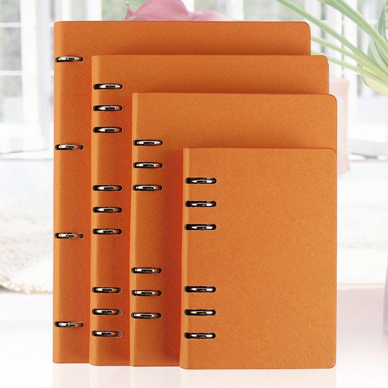 RuiZe faux cuir cahier A5 B5 A6 grand cahier à spirale A4 planificateur classeur quotidien mémos agenda organisateur carnet de notes fournitures de bureau