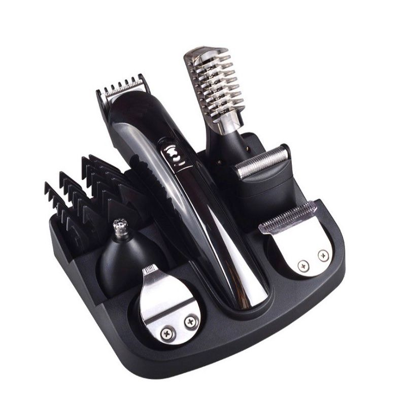 6 in 1 Men's Grooming Kit Rechargeable Hair Clippers / Trimmer / Shaver Electric Hair Cutting Machine Sets