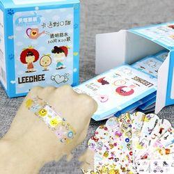100 unids variedad decoración Pegatinas para uñas vendajes ayuda Linda banda de dibujos animados para niños # y207e # Venta caliente