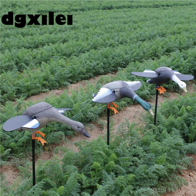 2017 Xilei Free Shipping Dc 6V/12V New Arrivals Animal Trap Decoy Outdoor Duck Decoy Motorized With Spinning Wings