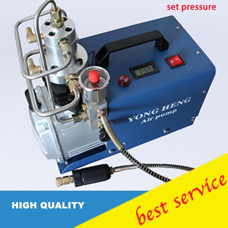 YONGHENG 300BAR MPA 4500PSI Hochdruck-luftpumpe Elektrische Luftkompressor für Pneumatische Luftgewehr Scuba Gewehr PCP Inflator
