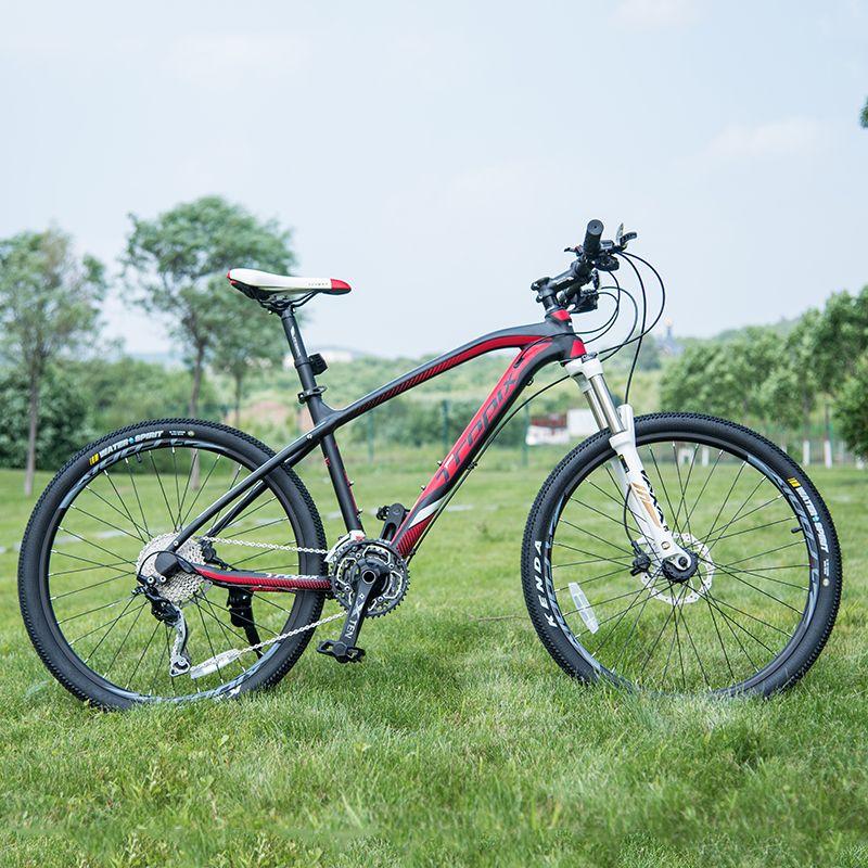 Высокое Качество 26 дюйм(ов) велосипеды Стали 30 скорость Алюминиевая рама горный велосипед занос Педаль Гидравлические дисковые тормоза вел...
