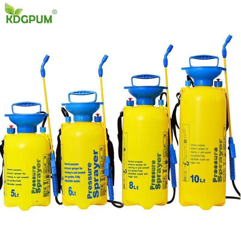 3/5/8/10L Pressure Sprayer Compressed Air Spray Garden Sprayer Pump Hand Pressure Watering Spray Garden Irrigation Car Clean