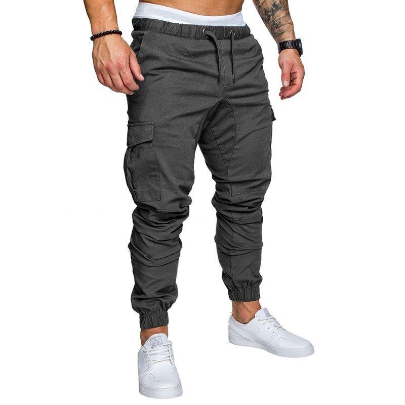 Hommes pantalons nouvelle mode hommes pantalons de survêtement hommes Fitness musculation Gyms pantalons pour coureurs vêtements automne pantalons de survêtement taille 4XL
