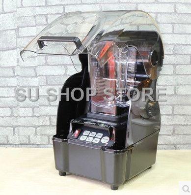 Geräuscharm 3HP JTC Omniblend TM-800AQ (Omni Q) Ruhig kommerziellen professionelle bar smoothie blender mixer Entsafter mit sound abdeckung