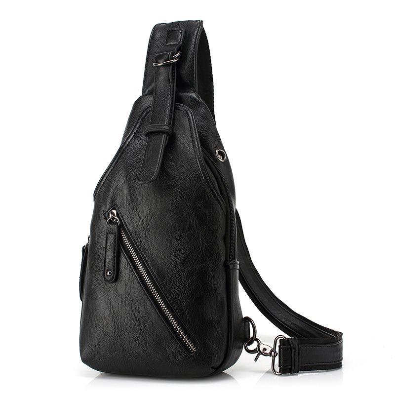 Marque de luxe mode poitrine sacs hommes Messenger sac multifonction grande capacité sac à bandoulière décontracté voyage sac à bandoulière pour hommes