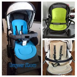 Cochecito de bebé cochecito Pad coche Auto asiento transpirable cojín de algodón acolchado del asiento cochecito de bebé cojín cochecito accesorio