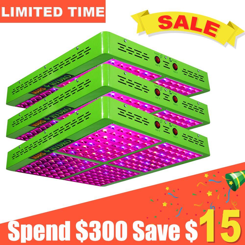 3PCS Reflector 960W Full Spectrum LED Grow Light Indoor Plant for Indoor Garden Hydroponics Greenhouse