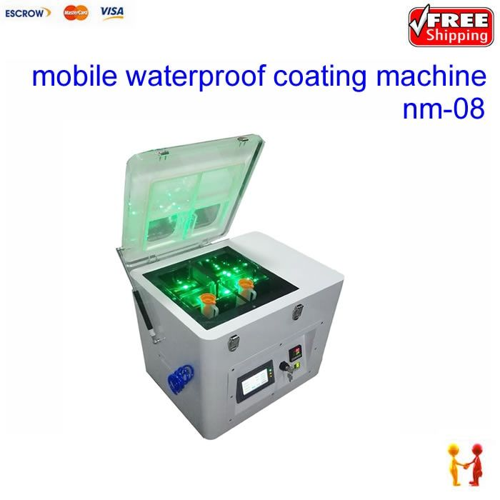 2018 waterproof spray machine for mobile phone nano coating machine nm-08