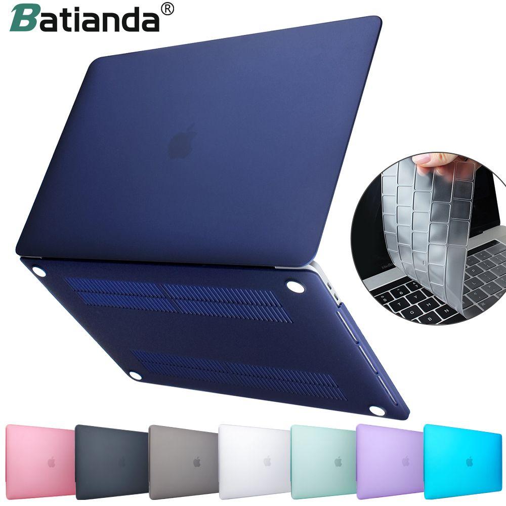 Nouveau étui rigide en cristal mat givré pour MacBook Air 11 air 13 pouces A1466 A1932 Pro 13 15 Retina A1706 A1708 A1989