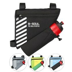 Треугольная велосипедная сумка, Велоспорт Передняя сумка на велосипедную раму верхняя труба велосипедные аксессуары сумка 4 цвета (не вклю...